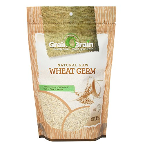 - Grain Brain Wheat Germ 12 oz (12 oz) Raw, All natural, Untoasted. Packaged in Resealable Pouch bags for easy use