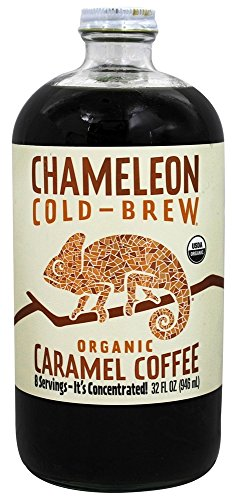 UPC 851220003476, Chameleon Cold-Brew Organic Coffee Concentrate, Caramel, 32 oz