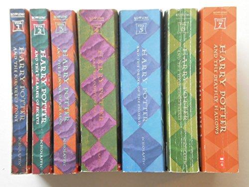 Harry Potter: Complete Paperback Set: Volumes 1 thru 7