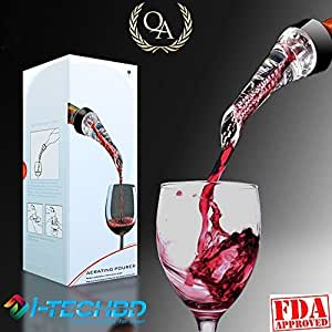 Best Wine Aerator Pourer - High Quality Aerating Pourer and Decanter Spout with Gift Box
