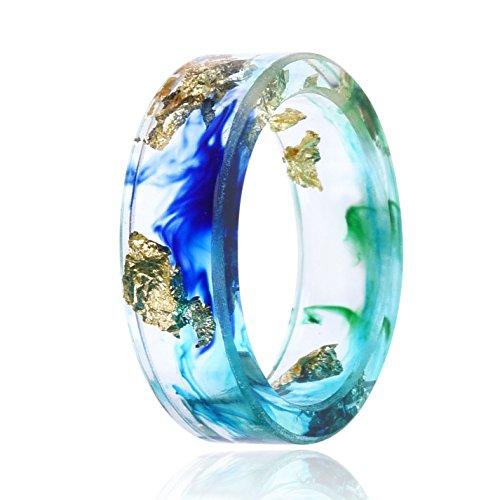 NDJEWELRY Handmade Resin Rings