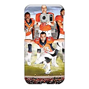 High Quality PBc127rWQx Denver Broncos Tpu Case For Sumsang Galaxy S6 Edge