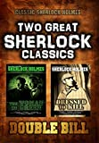Classic Sherlock Double Bill: The Woman in Green and Dressed to Kill