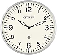 Citizen Clocks CC5012 Citizen Smart Echo Compatible Wall Clock with Multiple Timers, Silver