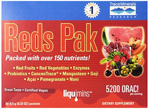 Cheap Trace Minerals Reds, 0.23 Ounce, 30-Count