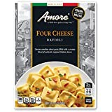 Amore Ravioli Pasta, Four Cheese, 8.8 Ounce