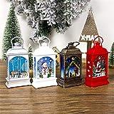 Christmas Decorations Lantern | Lit Battery