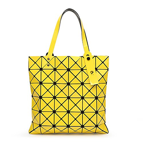 Diamond Bandoulière Yellow à Bandoulière Sac Pliable Main Sac Variété Géométrique à à Sac HqC0PxCw