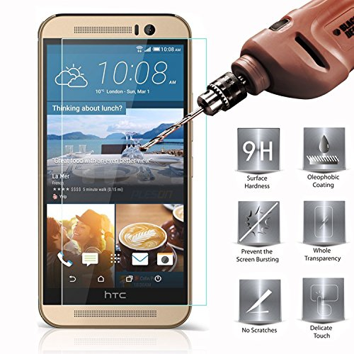 Tempered Glass Screen Protector for HTC One E8 (Clear) - 8
