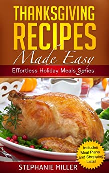 Thanksgiving recipes made easy