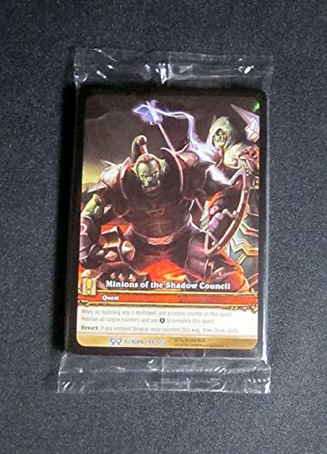 (16) World of Warcraft WoW TCG Minions of the Shadow Council Illidan Quest Cards