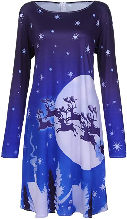 d95b691c3e5a0 Christmas Dresses for Women Plus Size