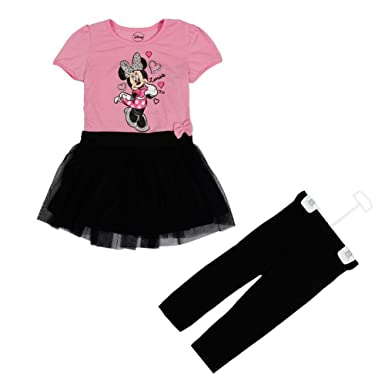 1ddc995a9e8bb Disney Minnie Mouse Baby Girls Outfits Dresses Summer Birthday Party Kids  Dress: Amazon.co.uk: Clothing
