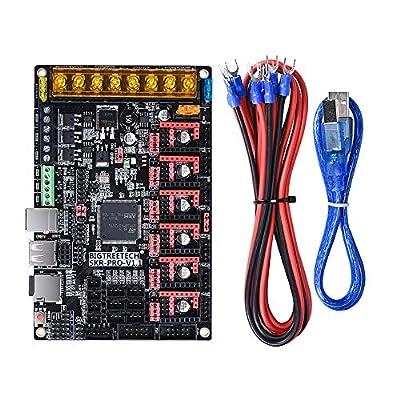 BIGTREETECH SKR Pro v1.1 32-bit high-Frequency 3D Printer Control Board,Support TMC5160,TMC2208,TMC2130,TFT28,TFT32,TFT35,12864lcd ect.