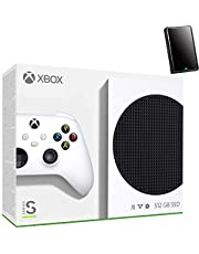 $589 » Microsoft Xbox Series S 512GB Game All-Digital Console + 1 Xbox Wireless Controller, White - 1440p Gaming Resolution, 4K Streaming Media Playback, WiFi - iPuzzle 320GB External Hard Drive