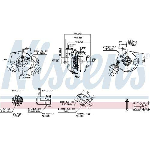 Nisss 93249 Turbo Charger: