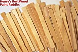 Wood Paint Stir Sticks 12 in. Bulk 1000 Pack | Stick to Mix Wax, Epoxy or Resin Made in USA | Guaranteed Satisfaction