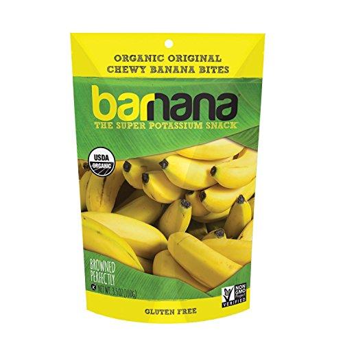 Barnana Organic Chewy Banana Bites, Original, 3.5 Ounce