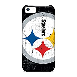 Awesome Hsy15977dKZZ JenniferTziamouranis Defender Hard Cases Covers For Iphone 5c- Pittsburgh Steelers