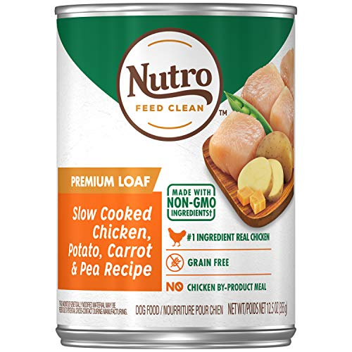 NUTRO PREMIUM LOAF Adult Canned Natural Wet Dog...