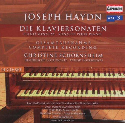 Joseph Haydn: Piano Sonatas- Die Klaviersonaten- Complete Recording on Period Instruments by Capriccio