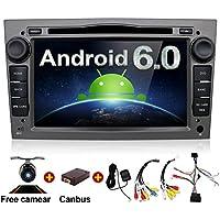 Android 6.0 Quad Core 7 GPS Car DVD Player For Opel Astra Vectra Zafira Antara Corsa Radio Navigation Stereo Audio and Video Color Gray Free Camera & Canbus