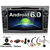 Android 6.0 Quad Core 7'' GPS Car DVD Player For Opel Astra Vectra Zafira Antara Corsa Radio Navigation Stereo Audio and Video Color Gray Free Camera & Canbus