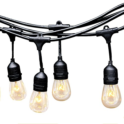 Outdoor String Lights Heavy Duty: EAGWELL Outdoor String Lights
