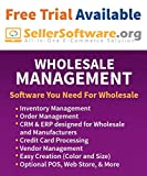 SellerSoftware: Wholesale Fashion and Apparel Management Software Solution includes Order, Inventory and CRM - Annual Term