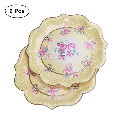 Chinese Style Paper Disposable Tableware Christmas Birthday Party Paper Plates Straws Tissues Carnival Party Supplies