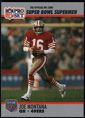 - Football NFL 1990-91 Pro Set Super Bowl 160 #33 Joe Montana NM-MT 49ers