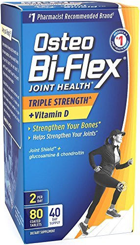 Osteo Bi-Flex Advanced Triple Strength With Vitamin D3, 80 Caplets by Osteo Bi-Flex Osteo Bi Flex Caplet Vitamins