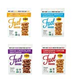 Foodie Fuel Snacks, Variety Pack 1-4 Ounce Bag of Each Flavor, Paleo Snack Made with Sunflower Seeds Pumpkin Seeds Flax Seeds, Non-GMO Certified Organic Gluten Free Paleo-Friendly Vegan