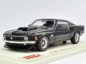 Post Hobby Spark 1/43 Ford Mustang Boss 429 1970 Black (japan import)