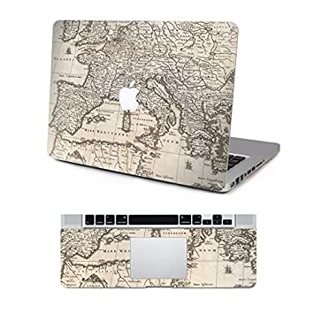 Decalshut world map stickers protective skin decal amazon decalshut world map stickers protective skin decal stickers for apple macbook decals macbook pro 154quot gumiabroncs Choice Image