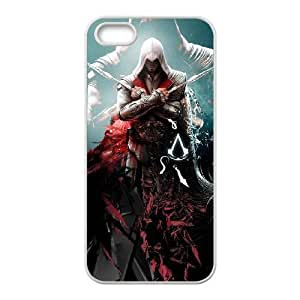 iphone5 5s phone cases White Assassins Creed cell phone cases Beautiful gifts PYSY9404051