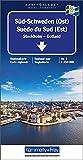 Sweden South (East) 3 k&f  Stockholm/Gotland: Vastervik, Avesta, Uppsala (Regional Maps - Sweden)