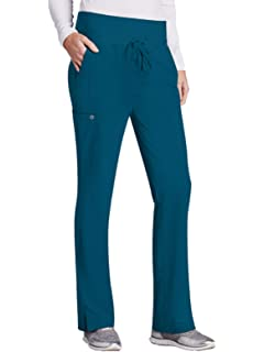 a0170de3e26 Barco ONE 4-Pocket Cargo Track Pant for Women - Straight Leg Medical Scrub  Pant