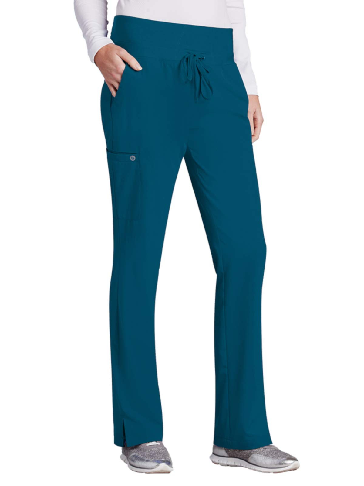 BARCO ONE 4-Pocket Cargo Track Pant for Women– Straight Leg Medical Scrub Pant