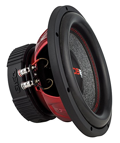 DS18 GEN-X124D Subwoofer in Black – 4 Layer Black Aluminum Voice Coil, 12″, 900W Max Power, 450W RMS, Dual 4 Ohms – Powerful Car Audio Bass Speaker (1 Speaker)