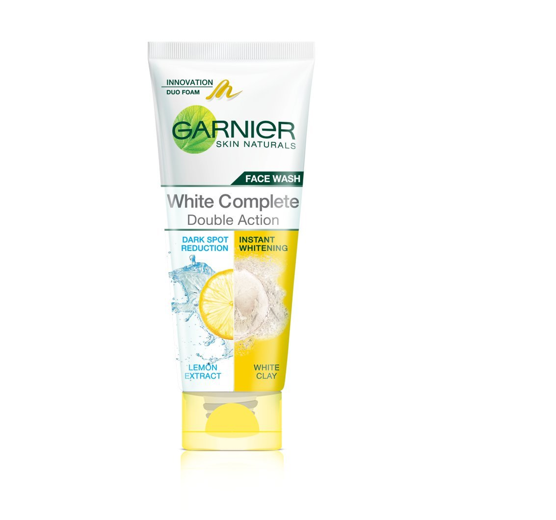Garnier Skin Naturals White Complete Double Action Face Wash