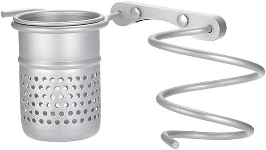 soporte de pared para ba/ño espacio de aluminio estante de pared para secador de pelo Unidad de almacenamiento para el pelo