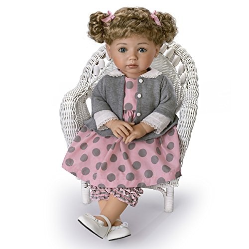 The Ashton-Drake Galleries Mayra Garza Poseable Child Doll with Vinyl Skin and Hold That Pose Armature by The Ashton-Drake Galleries (Image #2)