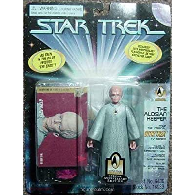 "The Talosian Keeper Action Figure From the Original Star Trek TV Series Pilot Episode ""The Cage"": Toys & Games"