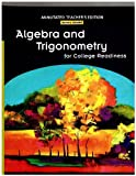 Algebra and Trigonometry for College Readiness, Margaret L. Lial and E. John Hornsby, 0131369032
