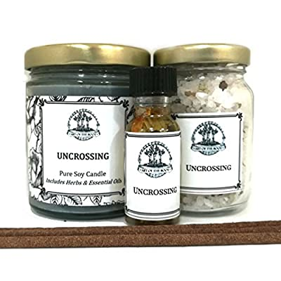Art of the Root Uncrossing Spell Kit for Curses, Hexes, Spells, Jinxes & Negative Intentions Wiccan Pagan Hoodoo Conjure