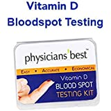 Vitamin D Test - Home Blood Spot Test Vitamin D3 and D2 - Accurate results - Do you have a Vitamin D Deficiency? Vitamin Deficiency can cause Low D Symptoms. - Doctor recommended, but doctors visit or prescription not required. - Order this testing kit now to make sure your Vit D is at an optimum level! Dr. Oz says that 75% of Americans are Vitamin D deficient!