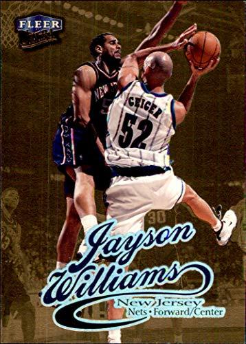 a3dcbcba778 1998-99 Fleer Ultra Gold Medallion  21G Jayson Williams NEW JERSEY NETS ST.