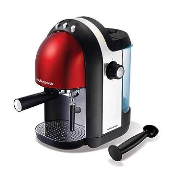 Yang máquina de café- Capacidad de la máquina de café 1.25L Tipo de Bomba Semiautomática Cafetera Vapor doméstico Coffee Pot Welcome (Color : Red): ...