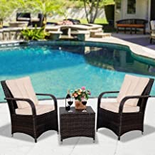 Fantastic The Best Goplus Patio Furniture Sets 2017 Reviews On Download Free Architecture Designs Embacsunscenecom